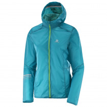 Salomon Lightning Wind Hoodie Women's Enamel Blue