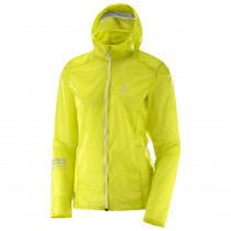 Salomon Lightning Wind Hoodie Women's Sulphur Spring