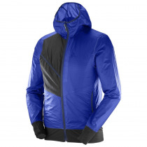 Salomon Drifter Air Wind Hoodie M Surf The W/Bk