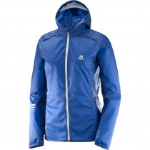 Salomon Lightning Wind Hoodie W Sodalite Blue