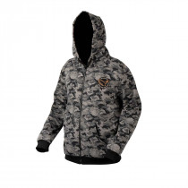 Savage Gear Black Savage Zip Hoodie Black Savage Camo