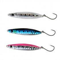 Savage Gear LRF Mini Casting Jigs 3-Pack Sardine, White Glow, Pink Flas 10g