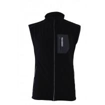Skigo Men's Elevation Stretch Warm-Up Vest Black