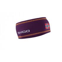 Skigo Crown Racing Headband D Purple