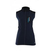 Skigo Women's Elevation Stretch Warm-Up Vest Navy