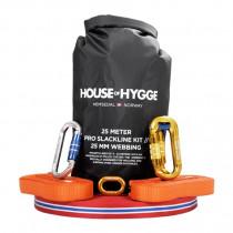 House Of Hygge, 25 meter Pro Slakkline® Kit