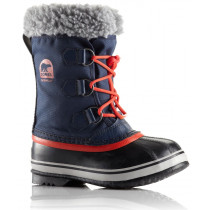 Sorel Childrens Yoot Pac Nylon Collegiate Navy/Sail Red