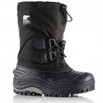 Sorel Youth Super Trooper Black,Lightgrey