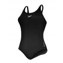 Speedo Women's Endurance+ Medalist Swimsuit Black