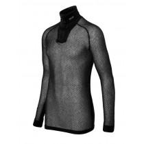 Brynje Super Thermo Zip Polo Shirt Black