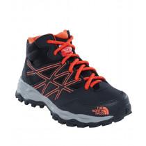 The North Face Jr Hedgehog Hiker Mid Waterproof TNF Black/Mndrnrd