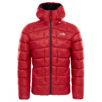 The North Face Men's Supercinco Down Hoodie Tnf Red
