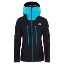 The North Face Women's Summit L5 GTX Pro Jacket Tnf Black/Bluebird
