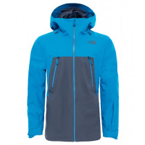The North Face Men's Lostrail Shell Jacket Turbulencgry/Brilliantblu