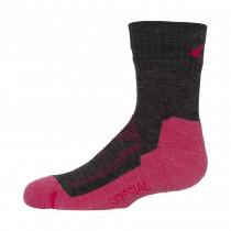 Ulvang Spesial Jr Charcoal Melange/Bright Pink Melange