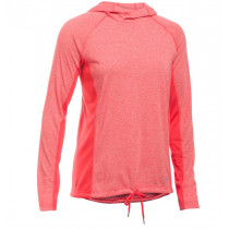 Under Armour Women's Threadborne Train Twist Hoodie Pomegranate