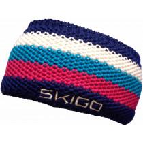 SkiGo Croched Striped Headband Mix