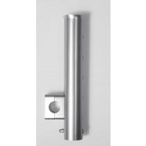 Wiggler Stangholder Aluminium Sølv