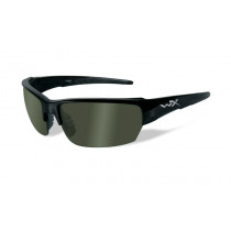 Wiley X SAINT Polarized Smoke Green, Gloss Black Frame