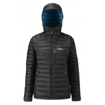 Rab Microlight Alpine Jacket Women's Black/Tasman