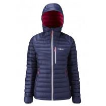 Rab Microlight Alpine Jacket Women's Twilight/Fuschia