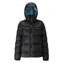 Rab Neutrino Endurance Jacket Wmns Black/ Seaglass