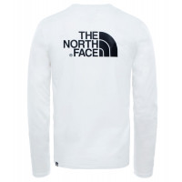 The North Face Men's L/S Easy Tee Tnf White
