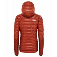 The North Face Women's L3 Down Hoodie Picante Red/Picante Red