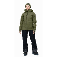 Norrøna Lofoten Gore Tex Insulated Jacket (W) Olive Night