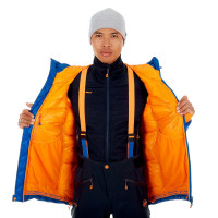 Mammut Eigerjoch Pro In Hooded Jacket Men Ice
