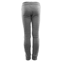 Aclima FleeceWool Joggers Junior Grey Melange/ Chili Pepper