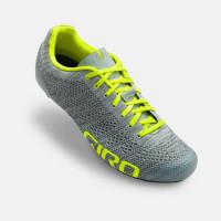 Giro Sykkelsko Empire E70 Knit Grey Heather/Highlig