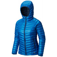 Mountain Hardwear Women's Ghost Whisperer™ Hooded Down Jacket Prism Blue