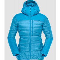 Norrøna Falketind Down Hood Jacket Women's Blue Moon