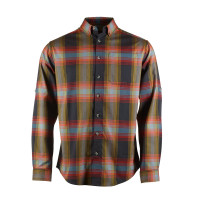 Fåk Rusutsu LS Shirt Men Checked
