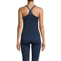 Casall Seamless Structure Strap Tank Pushing Blue