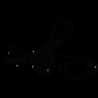 Leatherman Raptor M/Taske Sort ES