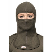 Woolpower Balaclava 400 Regular Pine Green