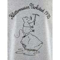 Klättermusen Runa Workshop S/S Tee Men's Grey Melange