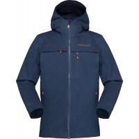 Norrøna Svalbard Cotton Jacket (W) Indigo Night