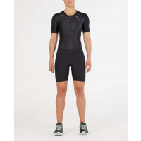 2XU Comp Sleeved Trisuit-W Black/Black