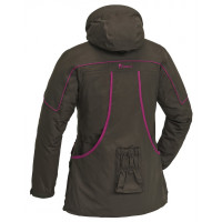 Pinewood® Nya Dog-Sports Jacka Dame Mockabrun/Fuchsia