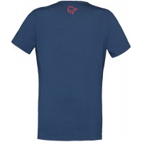 Norrøna /29 Cotton Id T-Shirt (W) Crisp Ruby