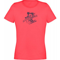 Norrøna /29 Cotton Heritage T-Shirt (W) Crisp Ruby