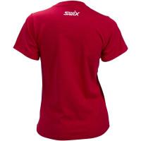 Swix Big Logo T-Shirt Women Swix Red