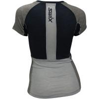 Swix Motion Tech Wool T-Shirt Women Dark Navy/ Silver