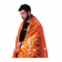 Lifesystems Overlevelsesduk Thermal Blanket Ny Oransje