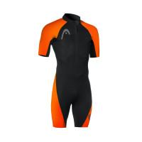 Head Swimrun Multix Shorty  Man Black/Orange