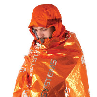 Lifesystems Overlevelespose Thermal Bag Orange