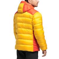 Haglöfs Mojo Down Hood Men Pumpkin Yellow/Habanero